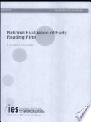 National evaluation of Early Reading First final report