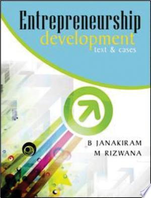 Entrepreneurship Development: Text and Cases - ISBN:9789350620380