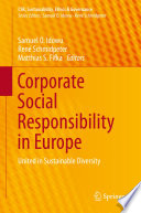 Corporate Social Responsibility In Europe book
