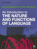 An Introduction to the Nature and Functions of Language