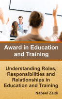 Award in Education and Training: Understanding Roles, Responsibilities and Relationships in Education and Training