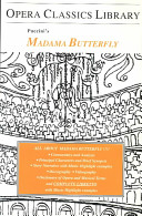 Puccini's Madama Butterfly Newly Translated Libretto With Music Examples Principal Characters