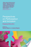 Perspectives on Participation and Inclusion