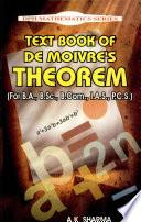 Text Book Of De Moivre S Theorem