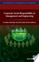 Corporate Social Responsibility in Management and Engineering