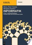 Programmierung  Algorithmen und Datenstrukturen