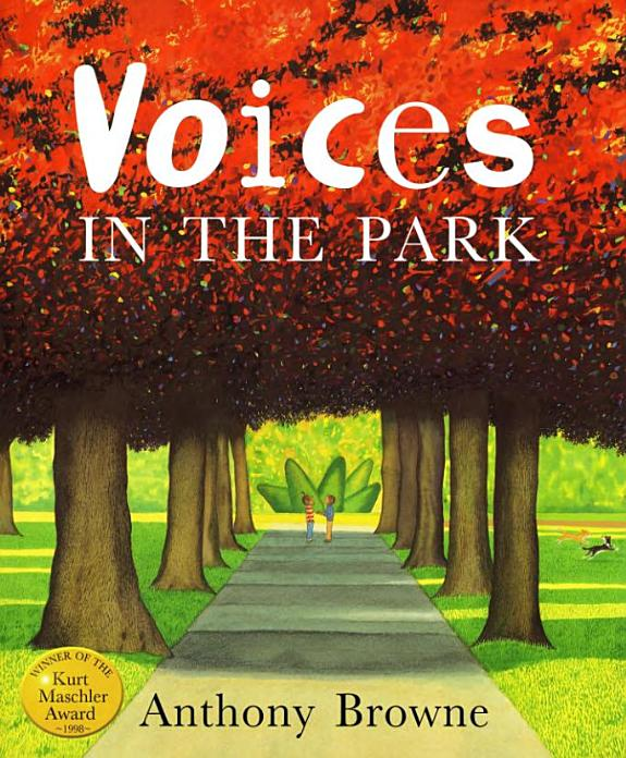 Voices in the park / Anthony Browne.- London : Picture Corgi Books , copyright 1998