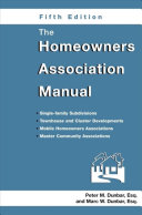 The Homeowners Association Manual