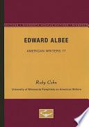 Edward Albee Aw