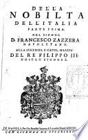 Della nobilit   dell Italia