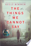 The Things We Cannot Say Book PDF