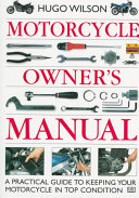 Motorcycle Owner S Manual
