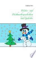 Winter  und Weihnachtsgeschichten und Gedichte