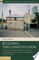 Building the Constitution