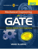 Mechanical Engineering for GATE  Graduate Aptitude Test in Engineering