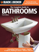 Black   Decker The Complete Guide to Bathrooms  Third Edition