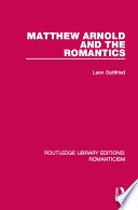 Matthew Arnold and the Romantics
