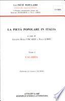 La pietà popolare in Italia