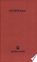 Schriften zu J.G. Fichtes Sozialphilosophie