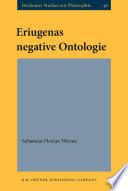 Eriugenas negative Ontologie