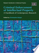 Criminal Enforcement of Intellectual Property