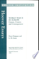 World War Two in Europe  Causes  Course  and Consequences