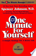 One Minute for Yourself Book PDF