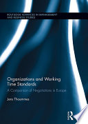 Organizations and Working Time Standards