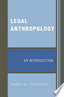 an introduction to the analysis of anthropology