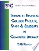 Trends in Training College Faculty  Staff   Students in Computer Literacy