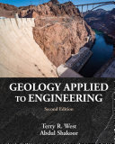 Geology Applied to Engineering Book