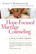 Hope Focused Marriage Counseling