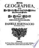 Biblische Geographia