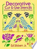 Decorative Cut and Use Stencils