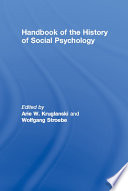 Handbook of the History of Social Psychology
