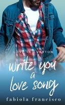 Write You a Love Song Book PDF