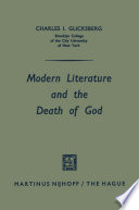 Modern Literature And The Death Of God