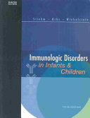 Immunologic Disorders in Infants   Children