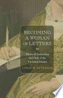Becoming a Woman of Letters
