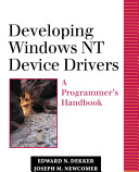 Developing Windows NT Device Drivers