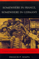 Somewhere in France  Somewhere in Germany Book PDF