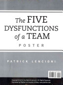 The Five Dysfunctions of a Team  Poster  2nd Edition