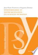 Épistémologie et instrumentation en sciences humaines