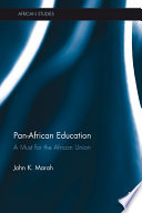 Pan-African Education Of Pan Africanism And The Education Of