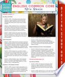 English Common Core 12th Grade (Speedy Study Guides)