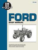 Ford Shop Manual Models1100 1110 1200 1210
