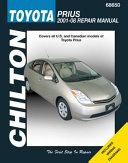 Chilton S Toyota Prius 2001 08 Repair Manual