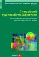Therapie mit psychoaktiven Substanzen