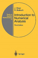 Introduction to numerical analysis /