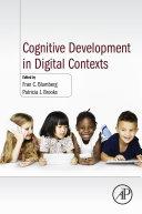 Cognitive Development in Digital Contexts